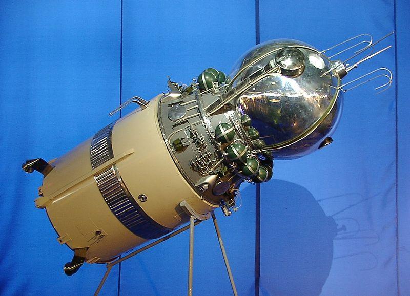Vostok fue la primera cápsula espacial tripulada de la Unión Soviética.El primer vuelo espacial tripulado al Vostok-1 fue el vuelo del cosmonauta Yuri Gagarin, realizado el 12 de abril de 1961.