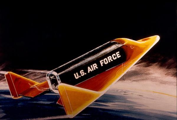 """El módulo de aterrizaje tripulado alado monoplaza SA """"Dayna-Sor"""" (Estados Unidos, 1957-63) fue desarrollado, pero no voló."""