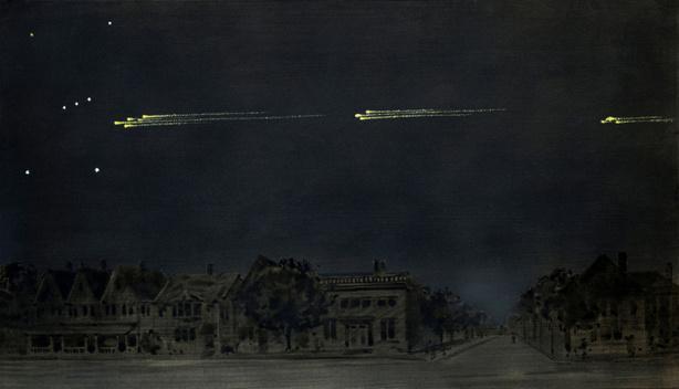 Великое шествие метеоров 1913 года (Густав Ган)