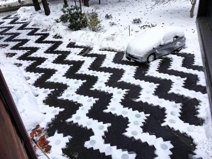 Фигураня чистка снега
