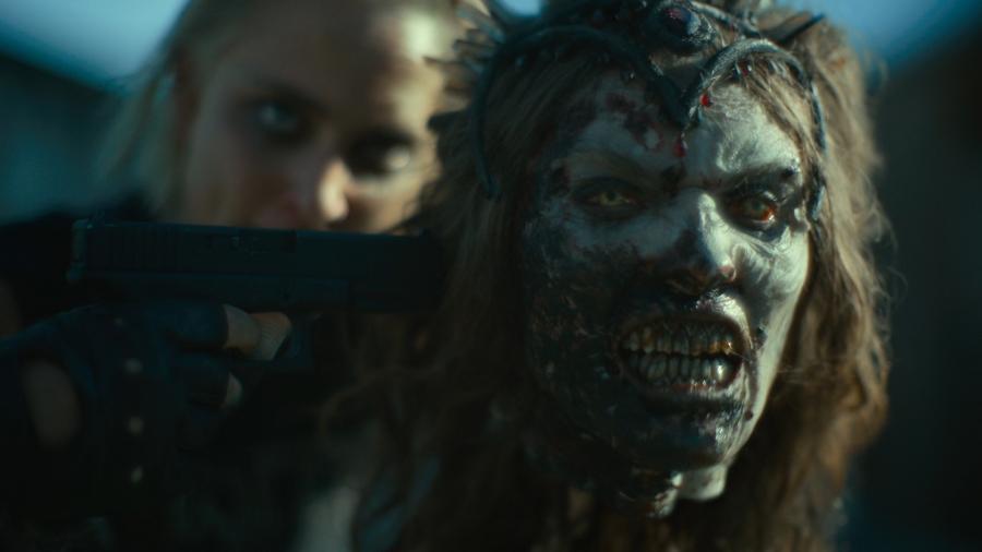 Голова зомби (живая)