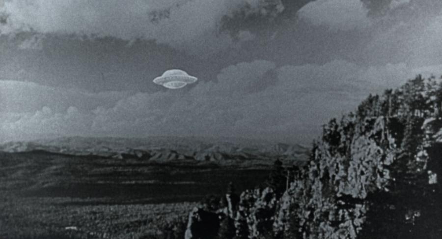 Летающая тарелка пришельца