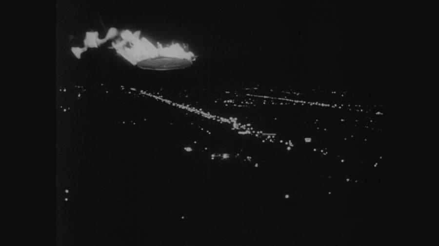 Пожар на летающей тарелке