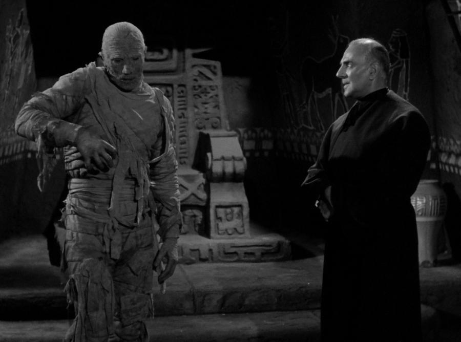 Ожившая мумия