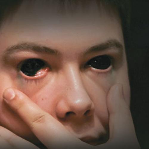 человек с черными глазами Fernflower Group